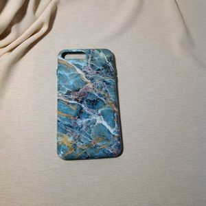 NWOT iPhone 7 Plus Marbled Case